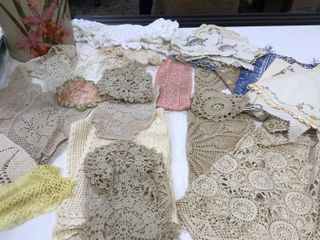 Doilies   lace Work