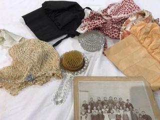 Bonnets   Vintage Dresser Set
