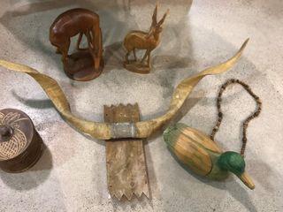 Wooden Animal Figures