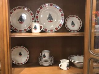 Christmas Tree Dishes