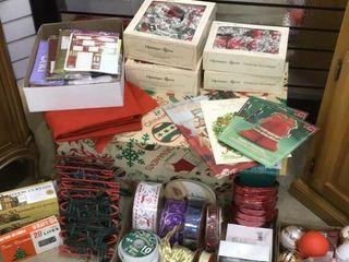 Christmas Decoration Preparation
