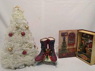 2  Ice Skates   Book Music Boxes