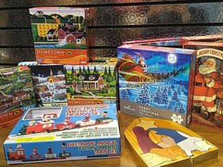 8  Christmas Games   Puzzles