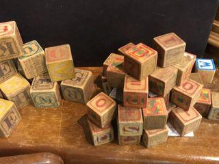 Vintage Alphabet Blocks