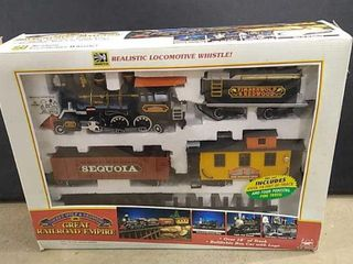 Timber Wolf Electric Train Set
