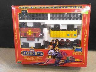 Classic Rail Electric Train Set