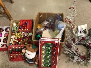 Various Sized Bulb Ornaments