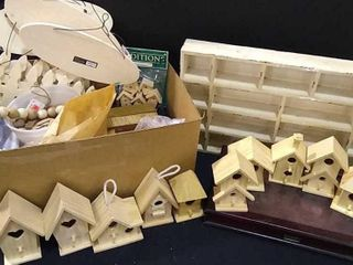 Woodworking Crafts  Beads  Boards    Birdhouses