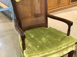 Side Chair With Cane Back