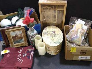 Assortment Of Craft Materials  Memory Box
