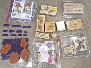 Selection of Stampin Up   Other Stamps