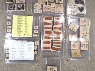 8  Stampin  Up  Stamp Sets