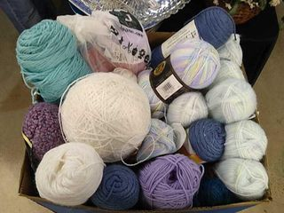 large Selection of Yarn  Various Sizes   Colors