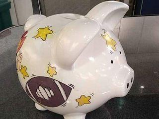 Nebraska Huskers Piggy Bank