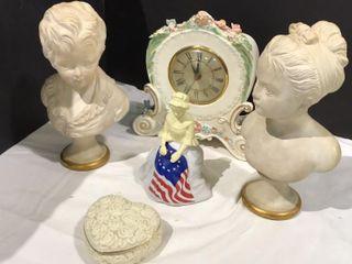 Clock   Betsy Ross Fragrance Bottle