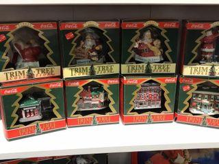 Coca Cola Trim Tree Ornaments Collection