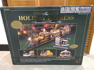 Holiday Express Electric Animated Train Set