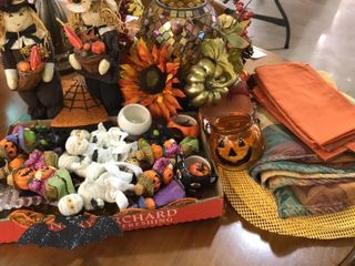 Fall Decorations  Placemats  Round Tablecloth