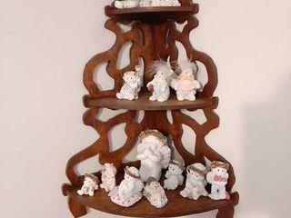 Corner Shelf with Dreamsicles Figurines