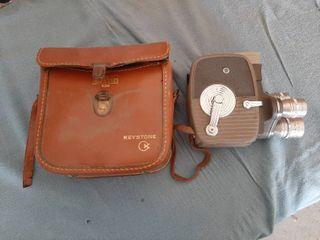 Keystone 8 MM Movie Camera with Case
