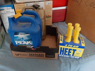 Antifreeze   Approximately 2 33 Gal and 4 Gas line Antifreeze