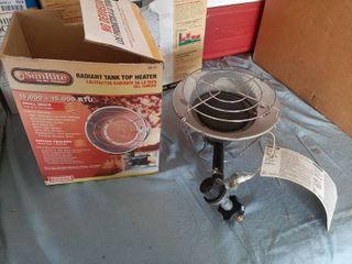 Sun Rite Radiant Tank Top Heater Propane Heater Sr15t 10k 15k BTU