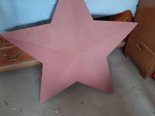 large Metal Star Decor
