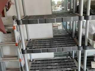 Plastic Shelf Unit
