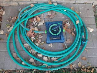 Garden Hose with Sprinkler