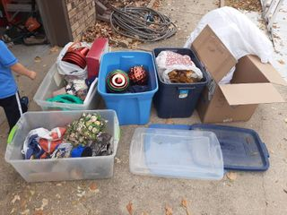 lot of Assorted Holiday Decor