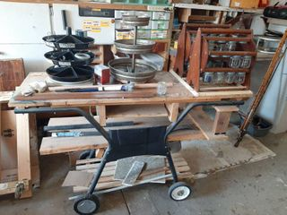 Cart with Contents   Rotobins