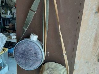 Canteen and Boy Scouts Mess Kit