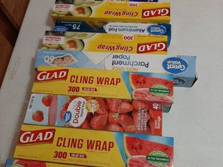 Assorted Wrap and liners