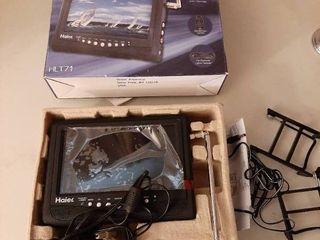 Haier HlT71 7 Inch Handheld lCD TV