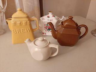 Assorted Tea Pots