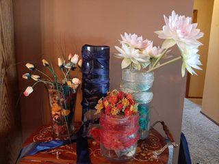 Glass Vases   Centerpieces