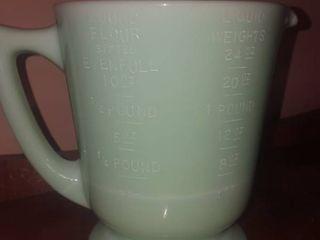 jadeite measuring cup