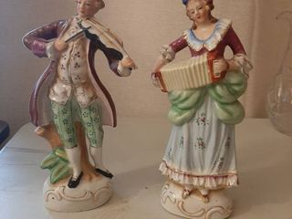2 Figurines   Made in Occupied Japan