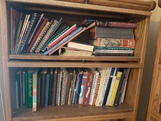 2 Shelves of Cookbooks