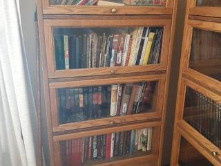 Oak lawyers Barrister Bookshelf   Contents Not Included