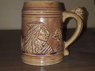 Sleepy Eye Western stoneware mug