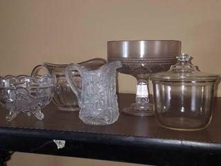 5 pcs  glassware