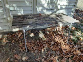 Folding Aluminum Camp Table