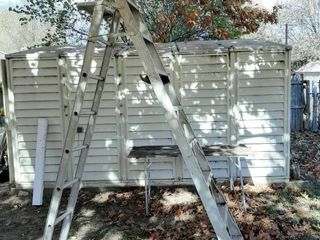 Aluminum Extension   Step ladder