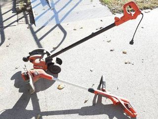 Black   Decker Electric Trimmer and Edger