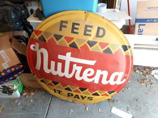Feed Nutrena Button Sign