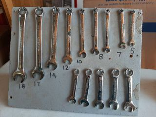 Husky Metric Wrench Set on Board