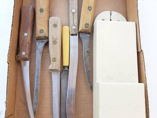 Knives and Holder