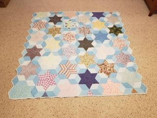 Quilt 70 in  x 70 in