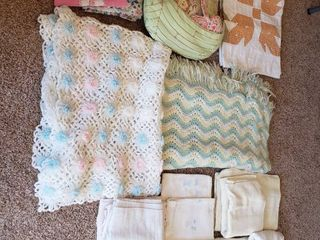 Baby Blankets and Pillow